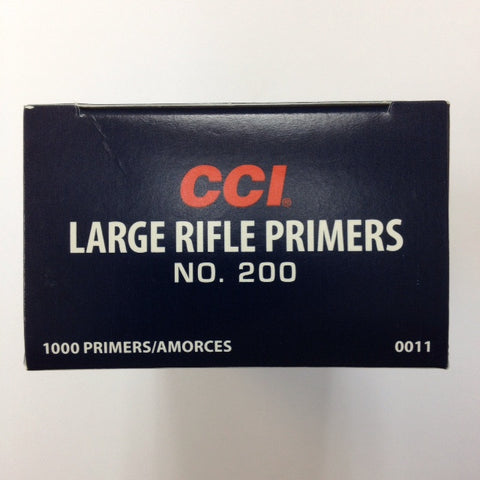 CCI #200 LARGE RIFLE PRIMERS