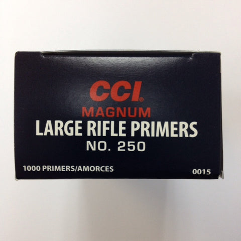 CCI #250 Large Rifle Magnum Primers