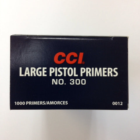 CCI #300 Large Pistol Primers
