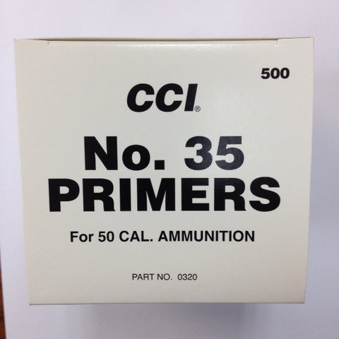 CCI #35 50 BMG Primers
