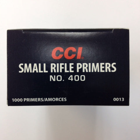 CCI #400 Small Rifle Primers