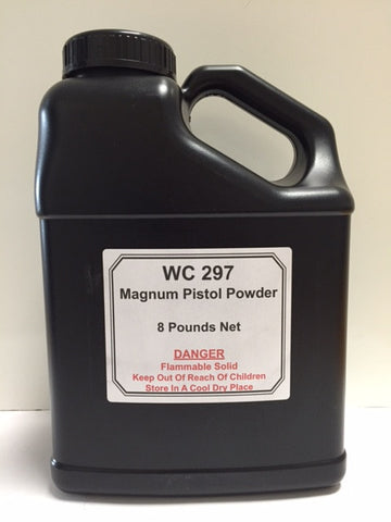 WC 297 Magnum Pistol Powder