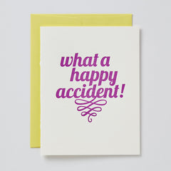 Happy Accident Card