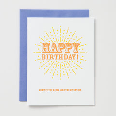 Birthday Attention Card