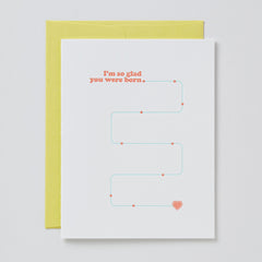 Glad You Were Born Card