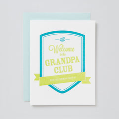 Welcome to the Grandpa Club Card