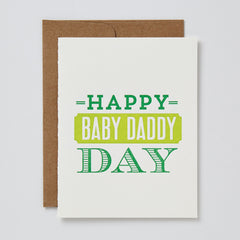 Baby Daddy Day Card