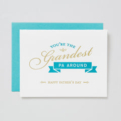 Grandest Pa Around Card