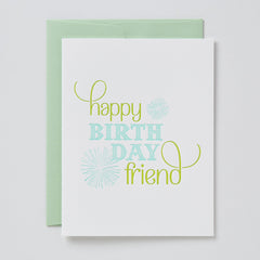 Happy Birthday Friend Card