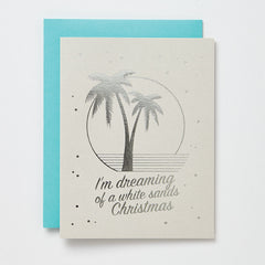 White Sands Christmas Card