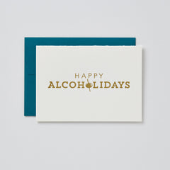 Happy Alcoholidays Card