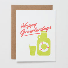 Happy Growlerdays Card