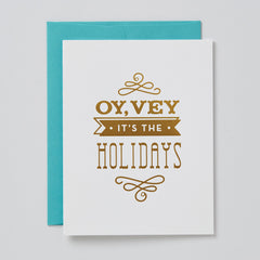 Oy Vey, It's The Holidays Card