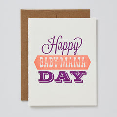 Happy Baby Mama Day Card