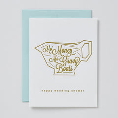Mo' Money, Mo' Gravy Boats Card