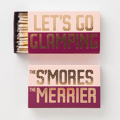 Let's Go Glamping, The S'Mores the Merrier Matchbox