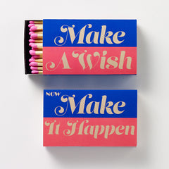 Make A Wish, Make It Happen Matchbox