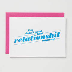 Relationshit Card