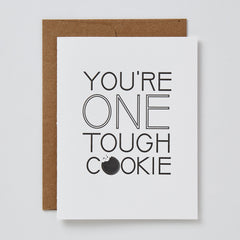 One Tough Cookie Card