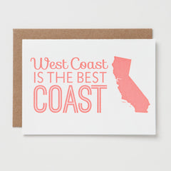 West Coast Best Coast Card