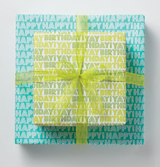 Happy Happy / Yay Birthday Gift Wrap