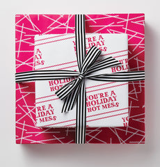 You're A Holiday Hot Mess Gift Wrap