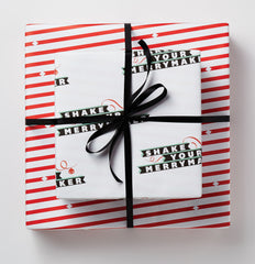 Shake Your Merrymaker Holiday Gift Wrap
