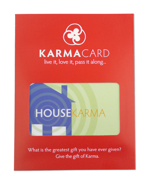 Good House Karma Greeting Card