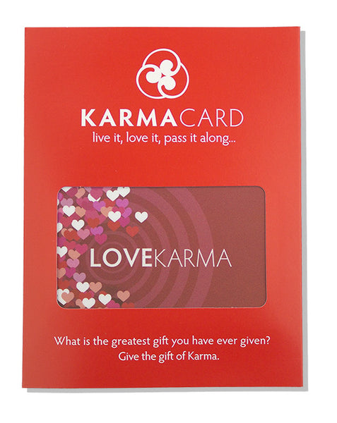 Karma Card Good Love Karma