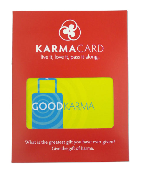 Good Travel Karma | Greeting Card