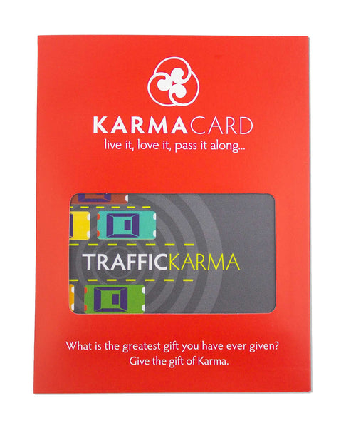 Good Traffic Karma | Greeting Card