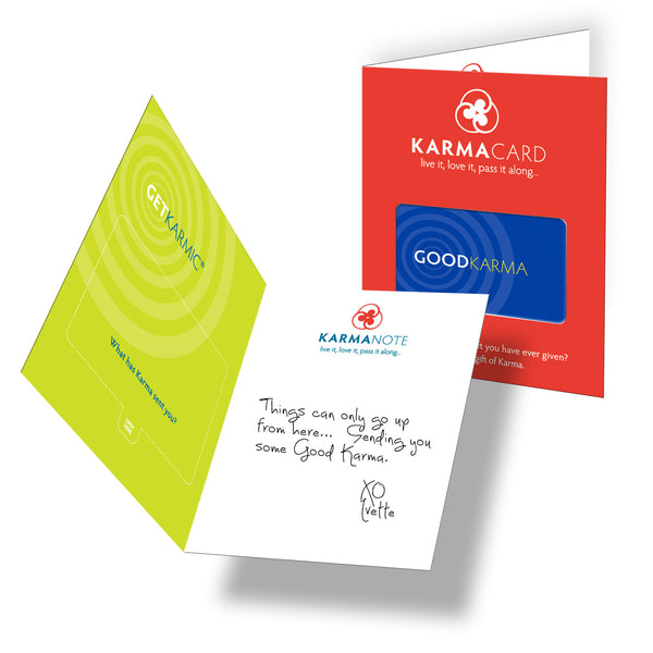 Good Karma Greeting Card