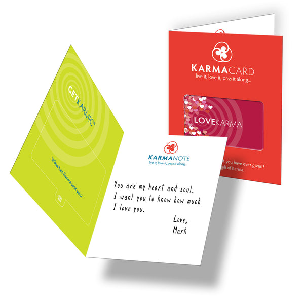 Good Love Karma Greeting Card