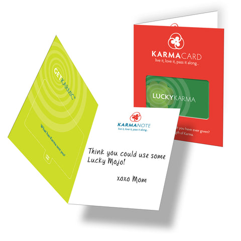 Karma Card Lucky Karma Greeting Card
