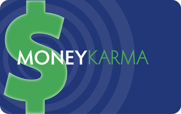 Money Karma Greeting Card