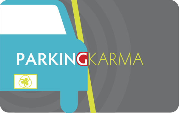 Good Parking Karma | Greeting Card