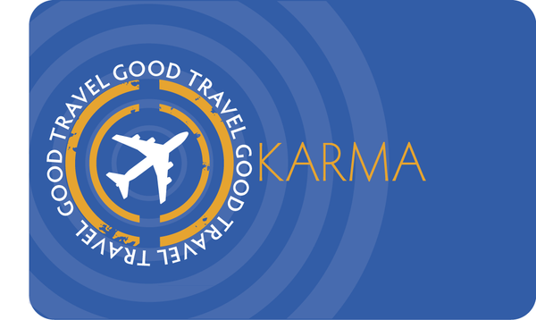Good Travel Karma II | Greeting Card