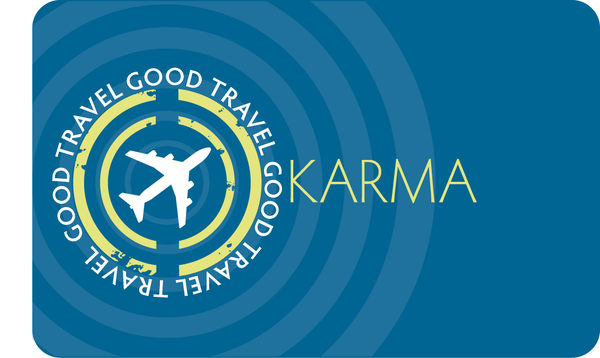 Pocket Cards | Good Travel Karma (Flight)