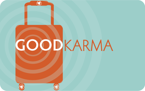 Pocket Cards | Good Travel Karma (Luggage)