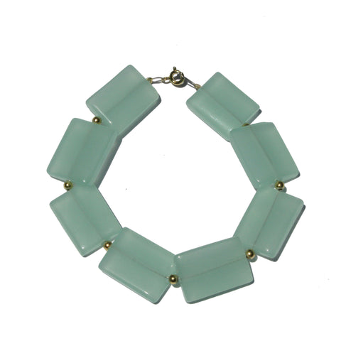 Aquamarine Bracelet Green