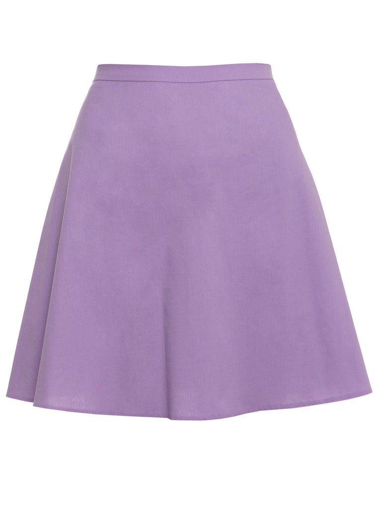 LUNA MINI SKIRT - LILAC