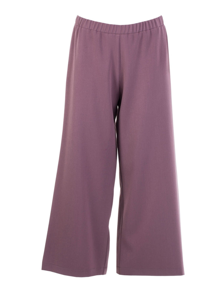 THE CONFIDENCE SUIT - CROPPED PANTS IN DUSTY PINK