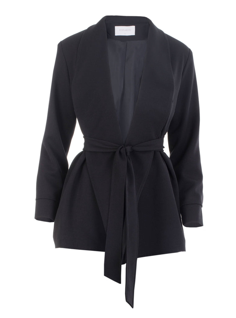 THE CONFIDENCE SUIT - BLAZER IN BLACK