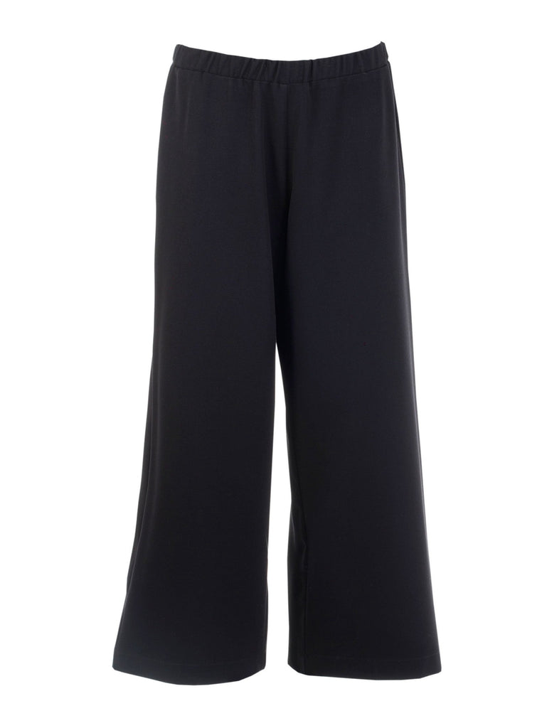 THE CONFIDENCE SUIT - CROPPED PANTS IN BLACK