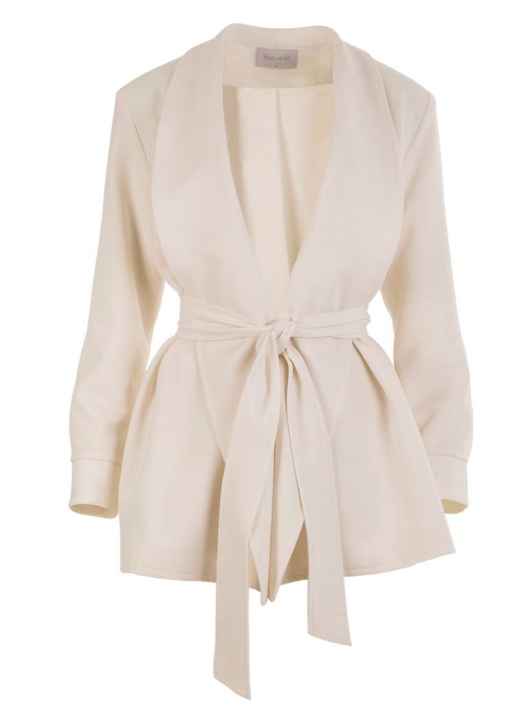 THE CONFIDENCE SUIT - BLAZER IN CREAM