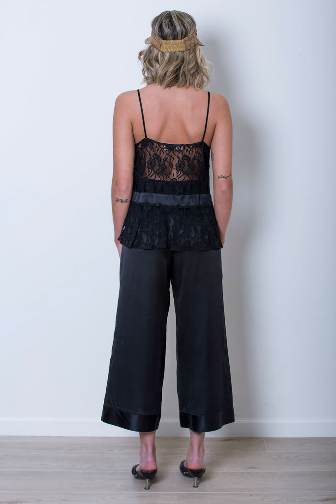 roses-are-red - DIONE SILK TOP - BLACK - TOP
