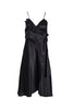 ALOISE SILK DRESS - BLACK