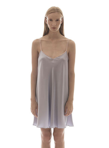SANI SILK DRESS - CIEL