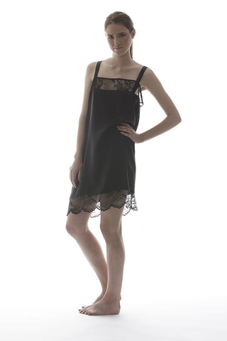 MIA - SILK DRESS IN BLACK