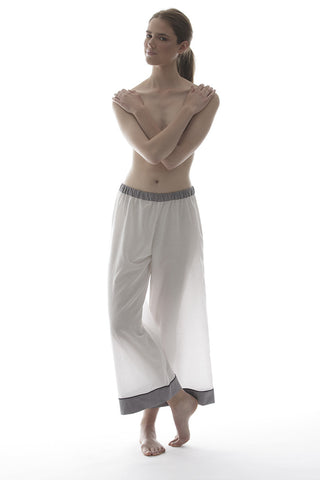 LEILA PANTS IN WHITE